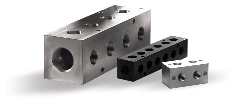 A1 Manifold Supply - Distribution Manifolds for pneumatic and hydraulic applications